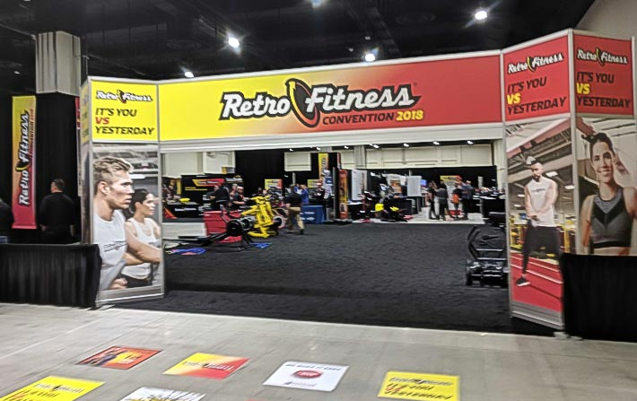 Retro Fitness Convention