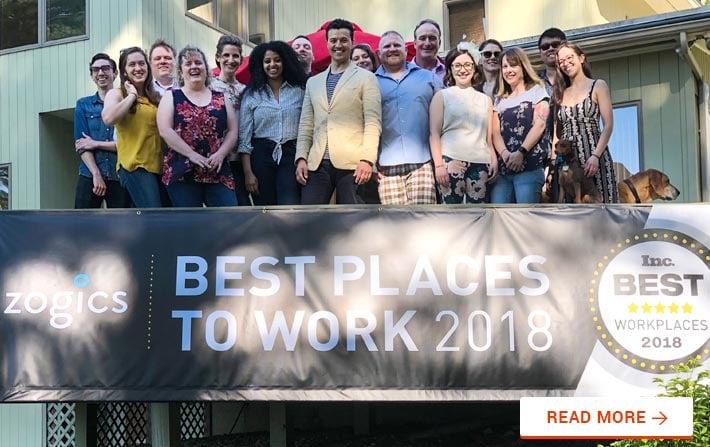 Inc. Magazine Best Workplaces Award