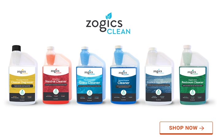 Zogics Cleaning Supplies line