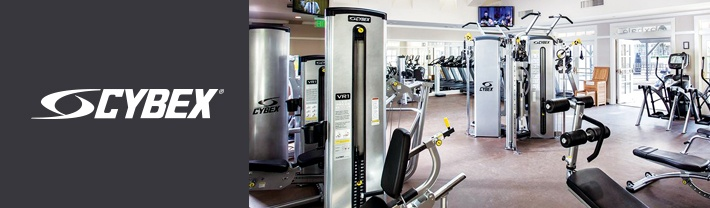 Cybex strength training and cardio equipment