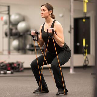 resistance bands vs free weights