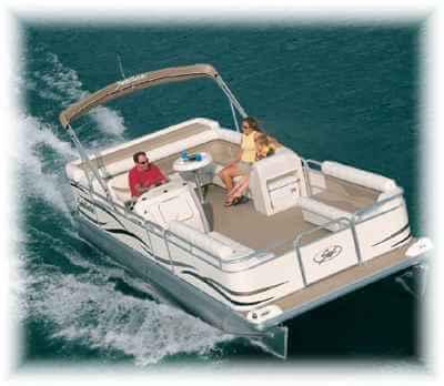 small pontoon boats
