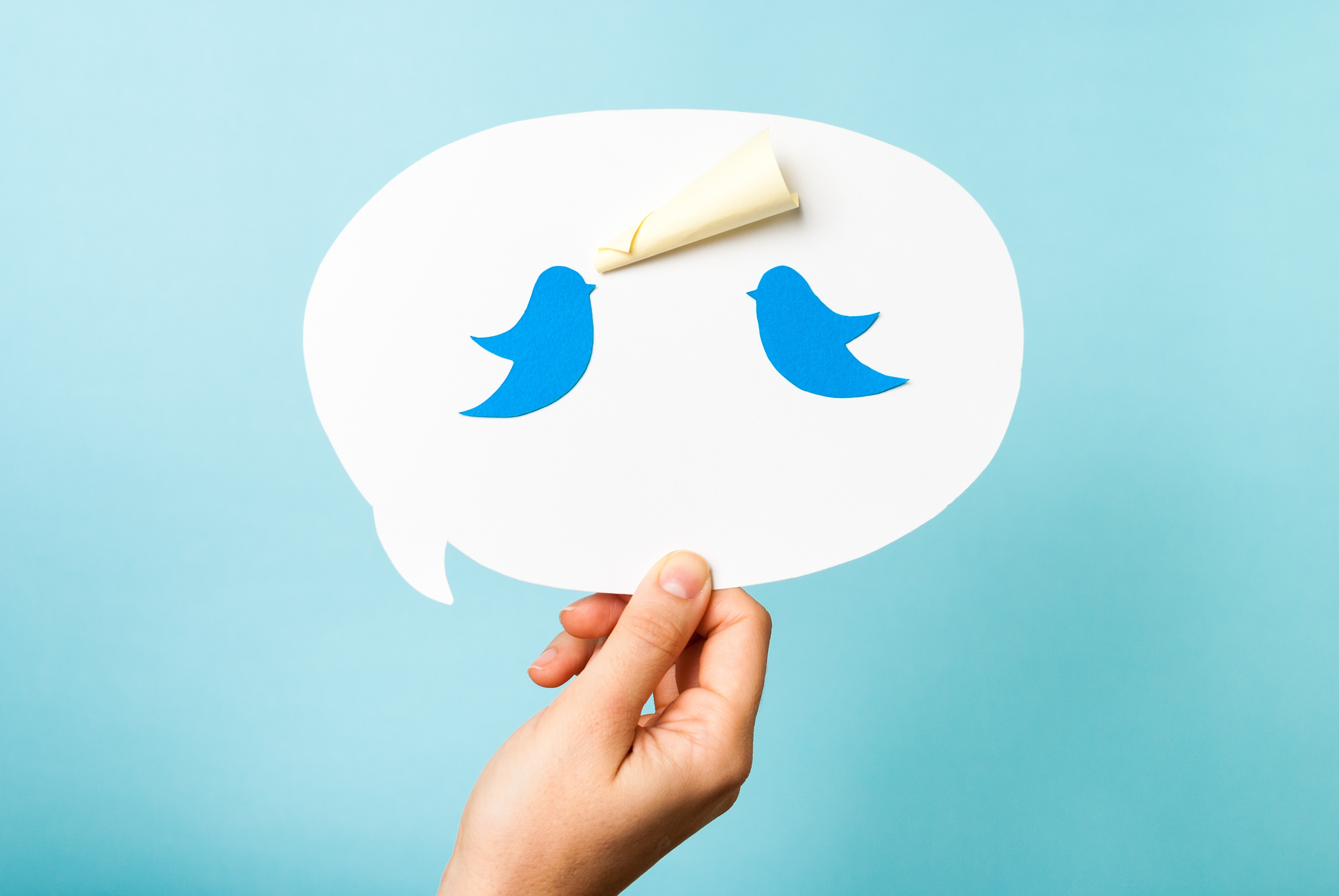 Use Twitter to speak with customers