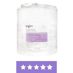 Antibacterial Wipes Single Roll