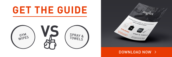 Download the free Wipes vs. Spray Guide