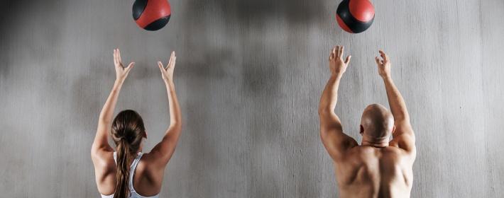 Medicine Ball Wall Toss