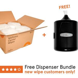 Best Selling Gym Wipes + Free Dispenser