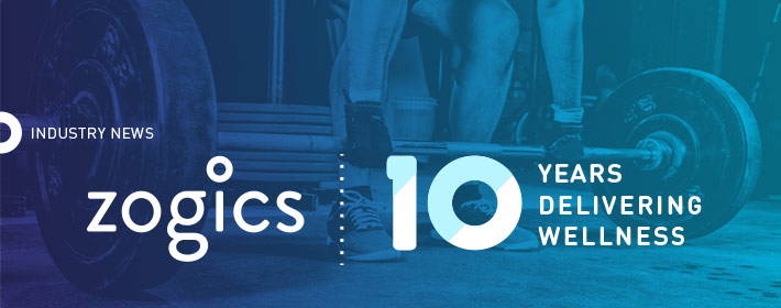 Zogics Celebrates 10 Years Delivering Wellness