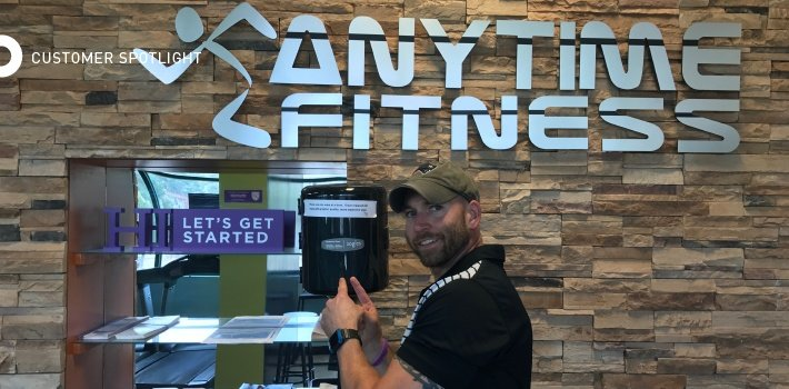 Gary Riello of Anytime Fitness Worcester, MA
