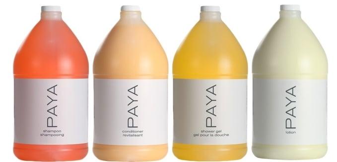 Paya Bath & Body Care Gallon Sampler Case