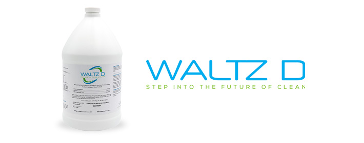 Waltz-D Disinfectant recommended for use with EMist sprayers