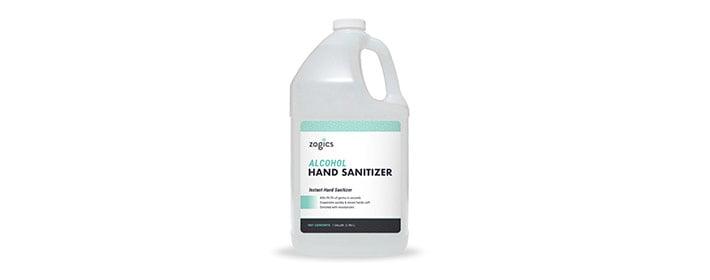 Zogics 60% Alcohol Gel Hand Sanitizer - Buy Now