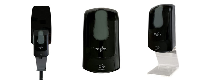 Zogics Touch-Free Hand Sanitizer Dispensers - Buy Now