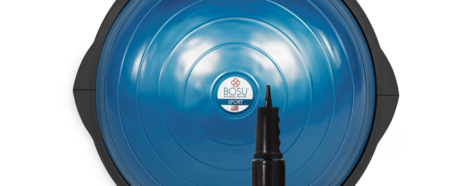How to Use the Bosu Balance Trainer