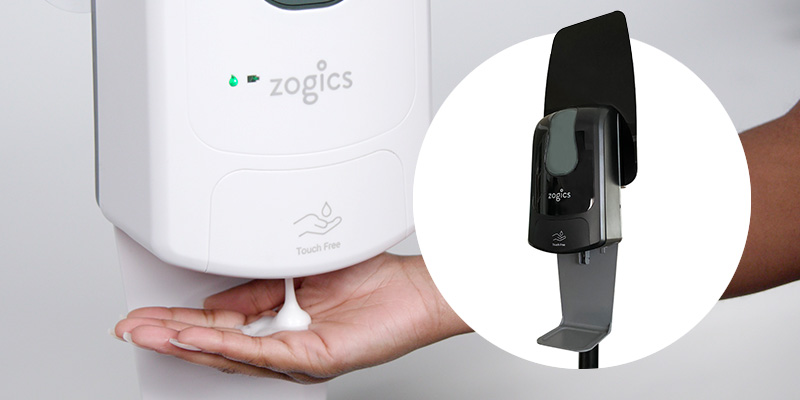 Zogics Touch-Free Hand Sanitizer Dispensers