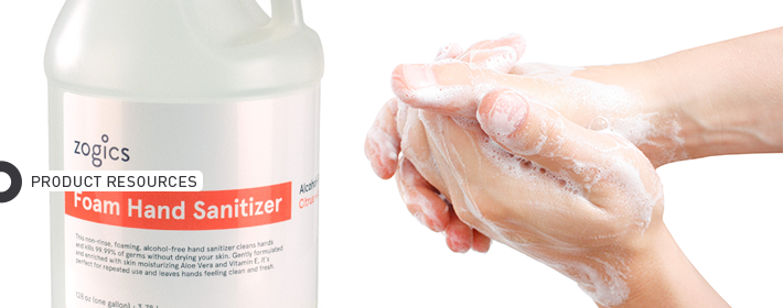 alcohol free hand sanitizer