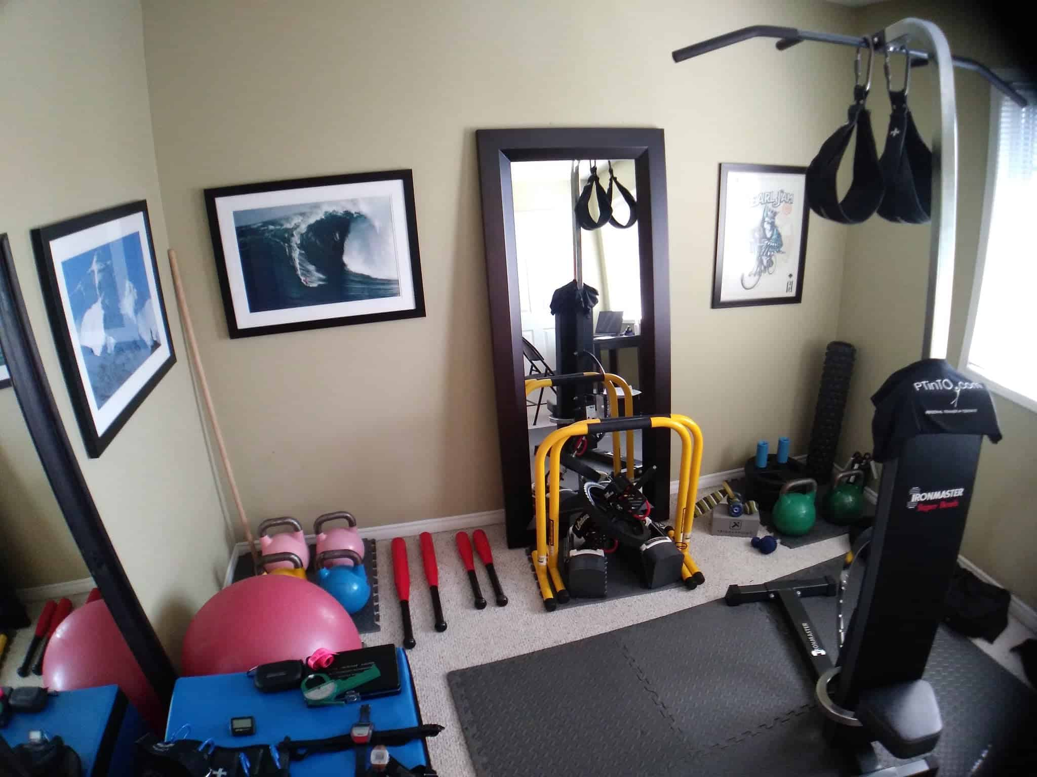 Home Gyms for a Small Space | Zogics Blog