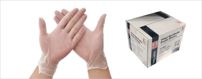 Disposable gloves at zogics.com