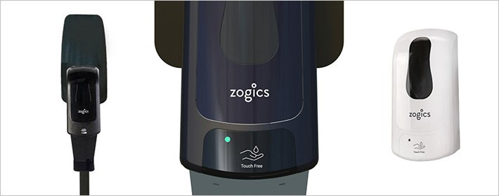 Hand sanitizer at zogics.com