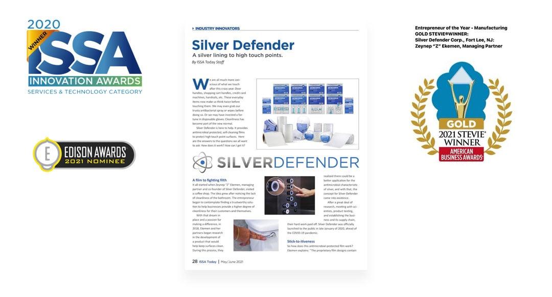 Award winning Silver Defender
