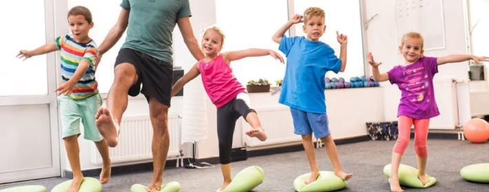 Balance training exercises
