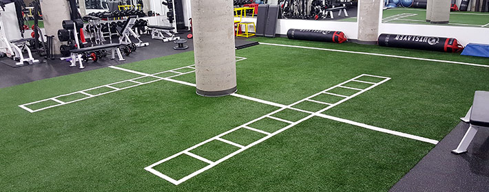 gym turf flooring