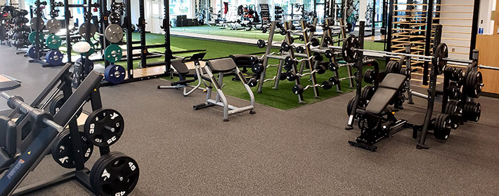 rubber flooring for gyms