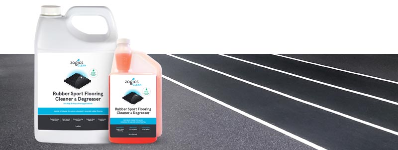 rubber flooring cleaner and degreaser