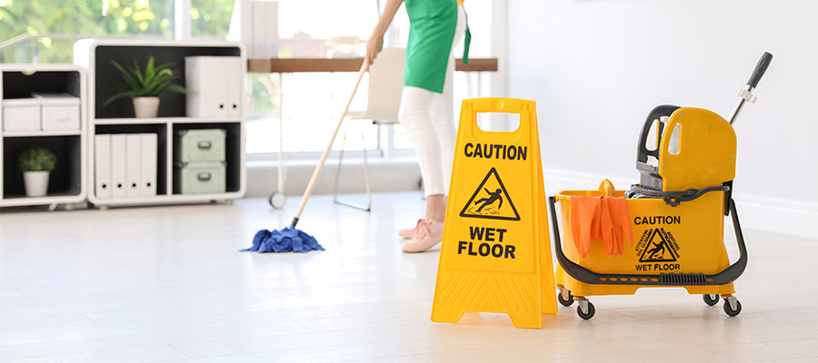 Buying bulk cleaning supplies saves time and money