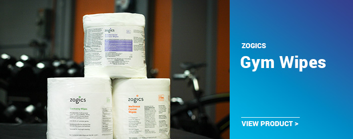 Zogics Gym Wipes