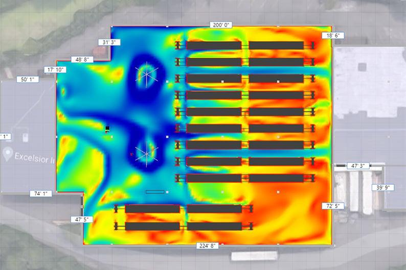 Zogics Warehouse Airflow Analysis
