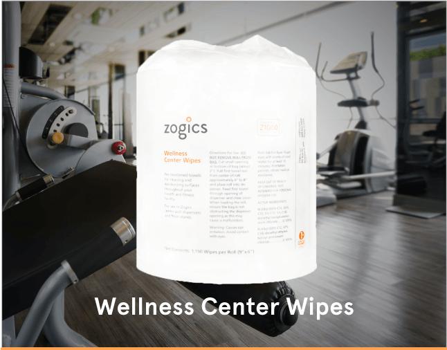 Zogics Wellness Center Gym Wipes