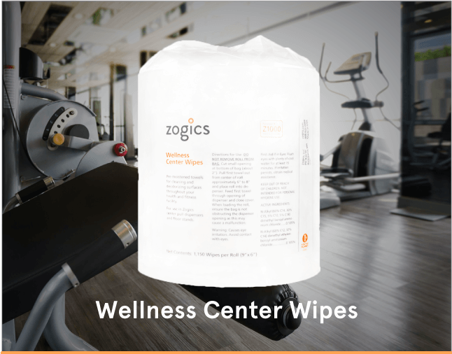 Zogics Wellness Center Gym Wipes