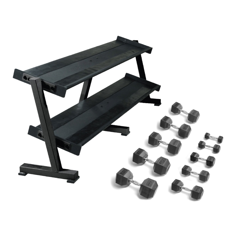 20% off York Dumbbell Rack Bundle
