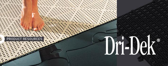 Keep Facility Floors Dry & Germ-Free with Dri-Dek