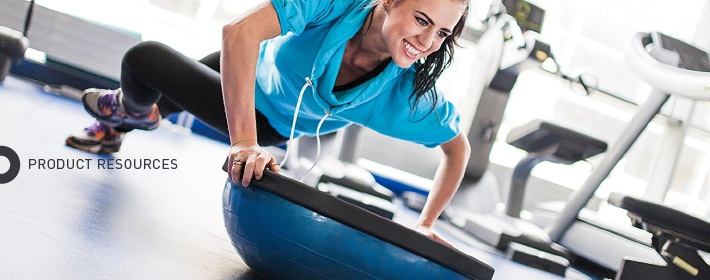 Getting Started With The Bosu Ball Balance Trainer