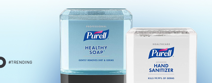 New to Zogics: Purell® ES Hand Hygiene Systems